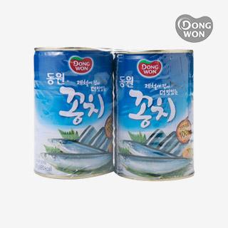 [슈퍼마트]동원 꽁치 400g X 2