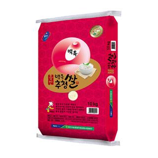 [슈퍼마트] 백옥 추청쌀10kg