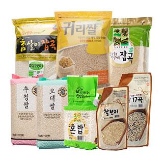 [슈퍼마트] 쌀/잡곡100종상품 골라담기