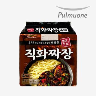 [슈퍼마트]풀무원 직화짜장 4입 (멀티)