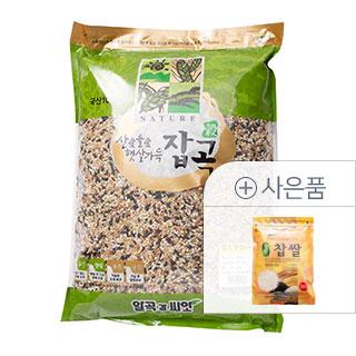 [슈퍼마트]찰진 혼합6곡 4kg (국산) + [증정] 찹쌀 350g