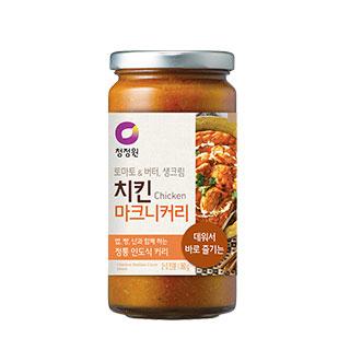 [슈퍼마트] 청정원 치킨마크니 커리소스 360g