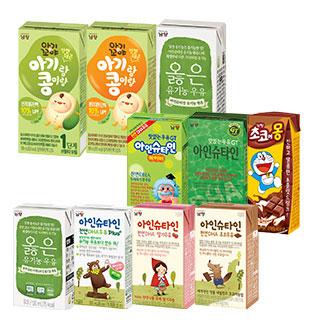 슈퍼마트남양옳은우유외10종유제품모음
