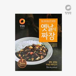 [슈퍼마트]청정원 옛날짜장 180g