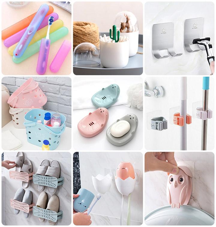 아이디어 욕실 생활용품 88종