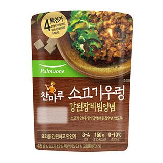 [슈퍼마트]풀무원 시골강된장 비빔양념