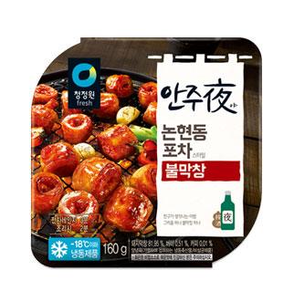 [슈퍼마트]청정원 논현동포차스타일불막창 160g