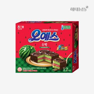 [슈퍼마트]해태 오예스 수박360g