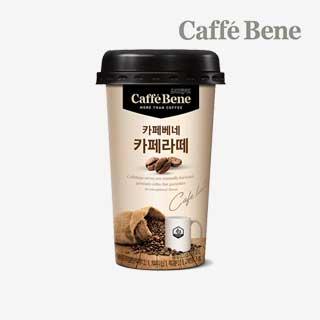 [슈퍼마트]카페베네 카페라떼 10입