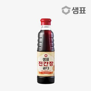 [슈퍼마트]샘표 진간장 금F-3 500ml