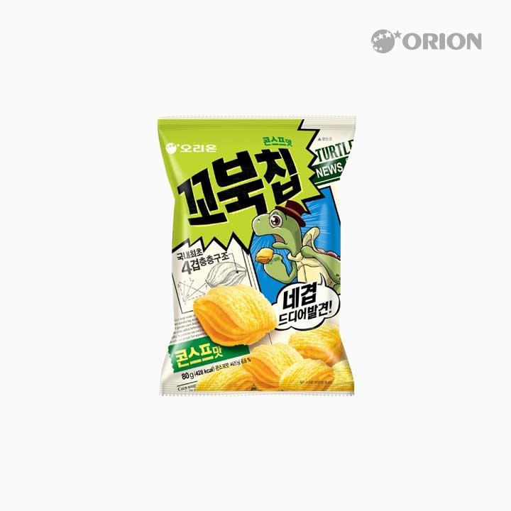 오리온 꼬북칩 콘스프 80g