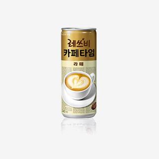[슈퍼마트]레쓰비카페타임240ml*6캔