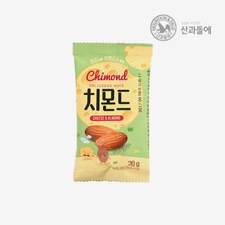 [슈퍼마트]산과들에 치즈아몬드20g