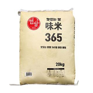 [18년 햅쌀][티몬 단독 쌀 PB 상품] 미미(味米) 365 20kg