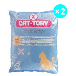[대용량]캣토리 모래 15L * 2