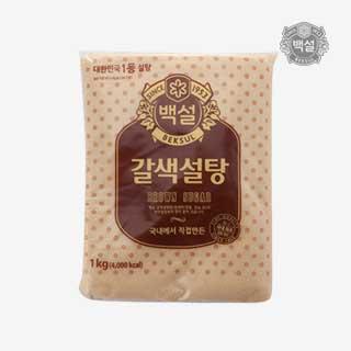 [슈퍼마트]백설 갈색설탕 1kg