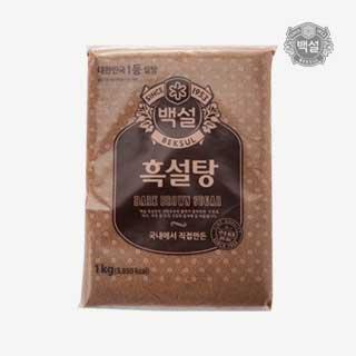 [슈퍼마트]백설 흑설탕 1kg