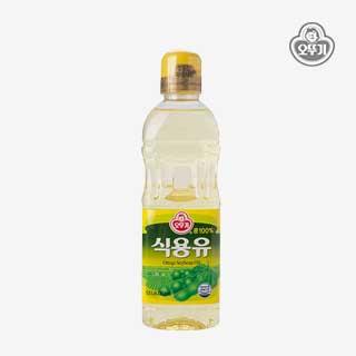 [슈퍼마트]오뚜기 식용유(콩기름) 0.5L