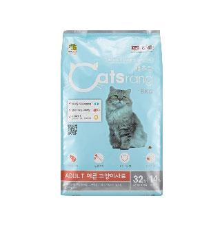 [슈퍼마트][대용량]캣츠랑 어덜트8kg