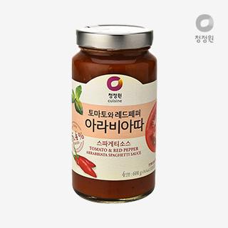 [슈퍼마트]청정원 아라비아따 소스600g