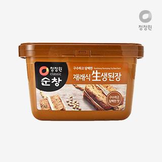 [슈퍼마트]청정원 재래식안심生된장2kg