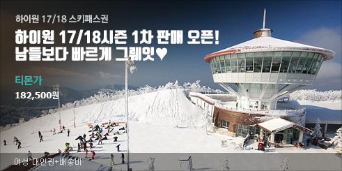 하이원 시즌권 #2만원카드할인